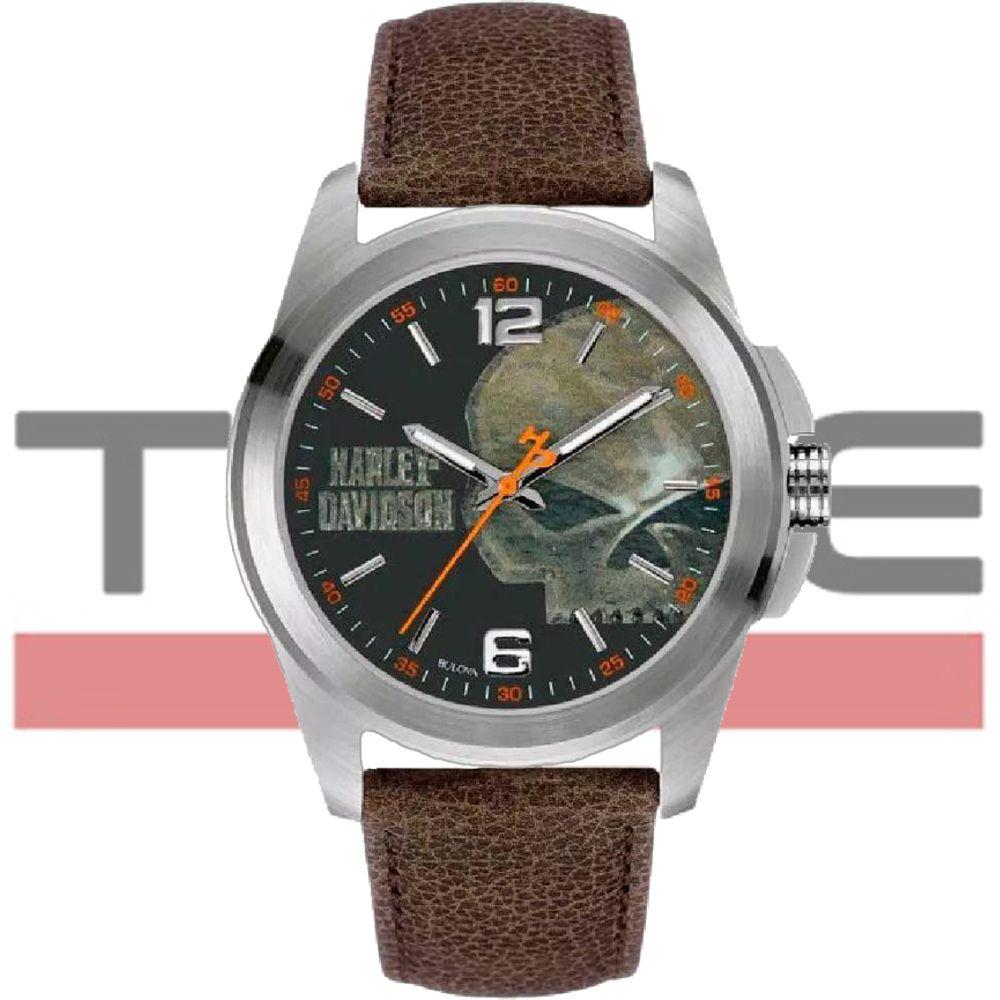 Relógio Bulova Harley Davidson Masculino WH30519T 76A146