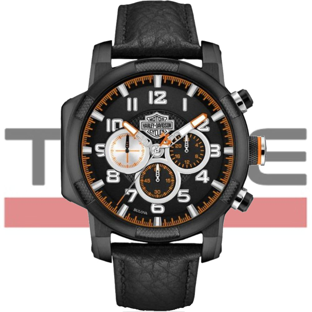 Relógio Bulova Harley Davidson Masculino Wh30555p / 76b139