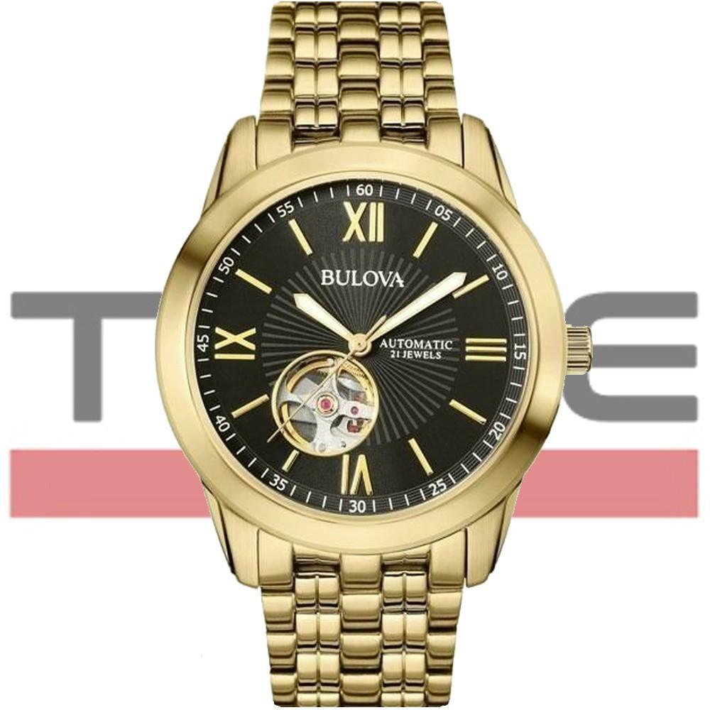 Relógio Bulova Masculino Automático 21 Jewels WB32004U 97A132