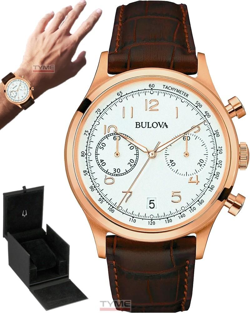 Relógio Bulova Masculino Classic Cronógrafo WB22391B 97B148
