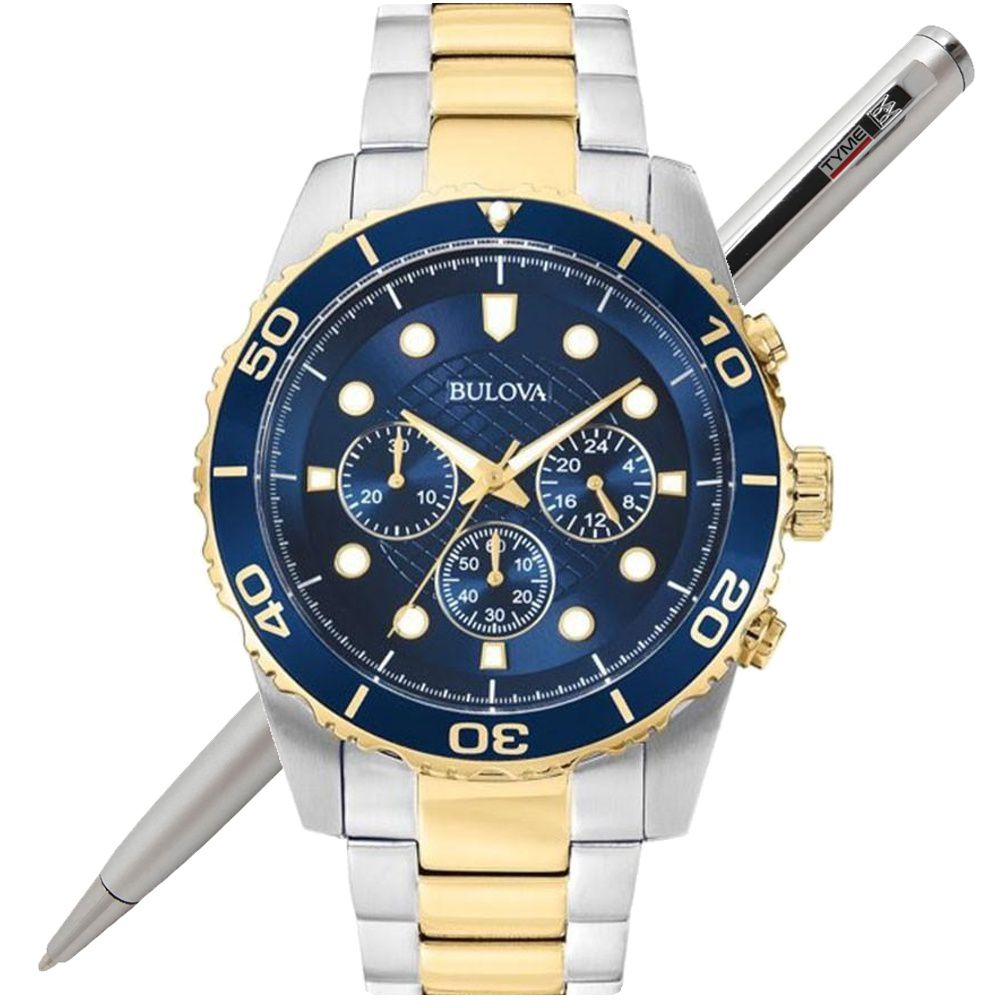 Relógio Bulova Masculino Classic Cronógrafo WB31989A 98A170