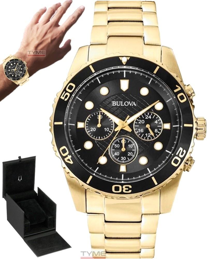 Relógio Bulova Masculino Classic Cronógrafo WB31989U 98A173
