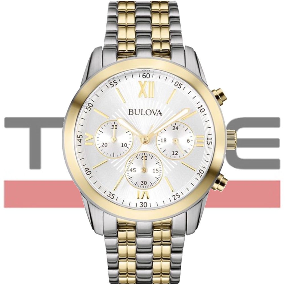 Relógio Bulova Masculino Dress Cronógrafo WB22346B 98A169