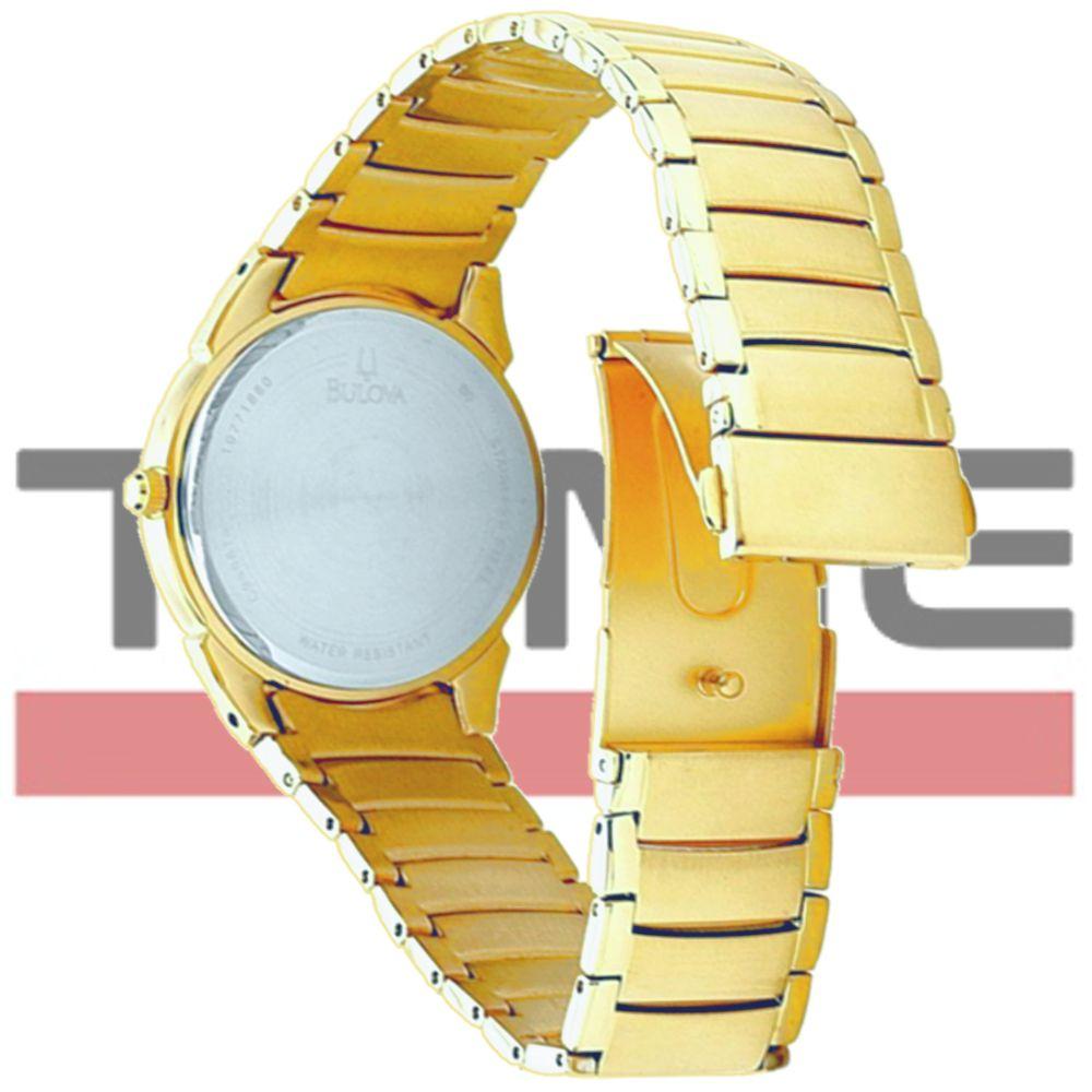 Relógio Bulova Masculino Dress Dourado WB21605H 97B108