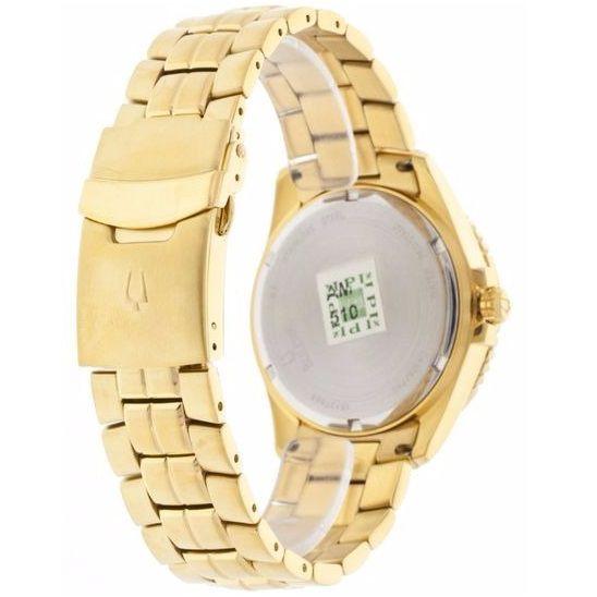 Relógio Bulova Masculino Wb30757u / 98b012 Dourado