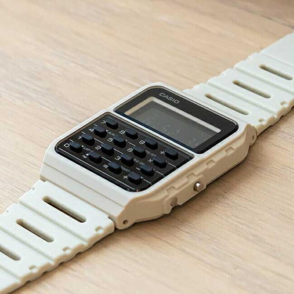 Relógio Casio Calculadora Vintage Unissex CA-53WF-8BDF