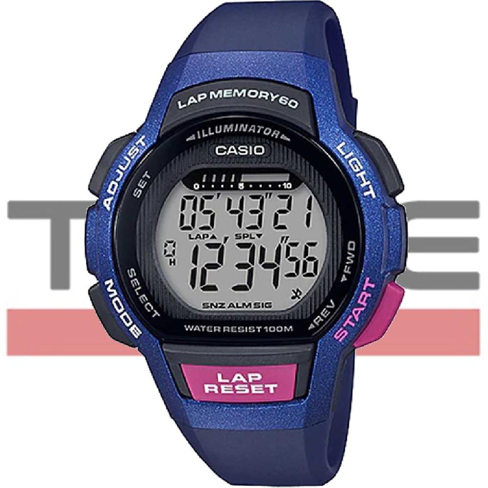 Relógio Casio Feminino Lap Memory 60 Standard LWS-1000H-2AVDF