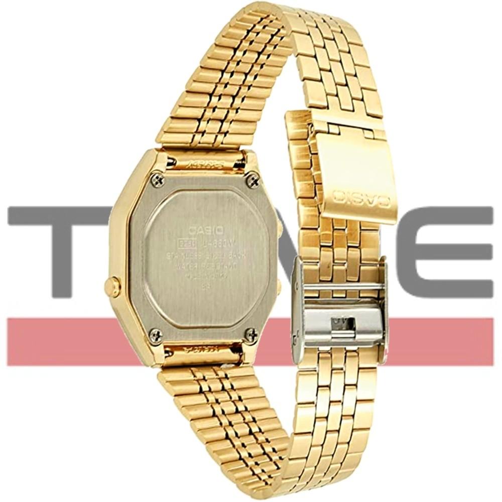 Relógio Casio Feminino Vintage LA680WGA-4CDF