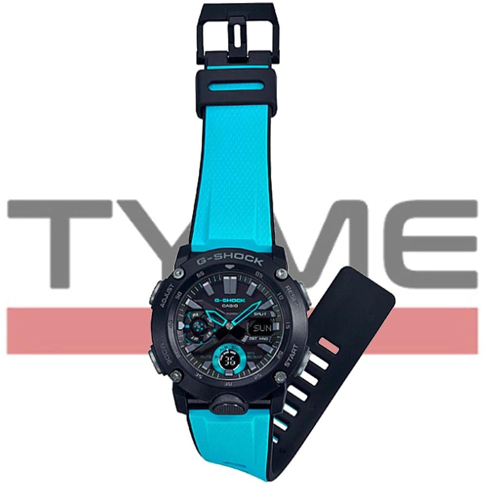 Relógio Casio G-Shock Carbon Core Guard Masculino GA-2000-1A2DR