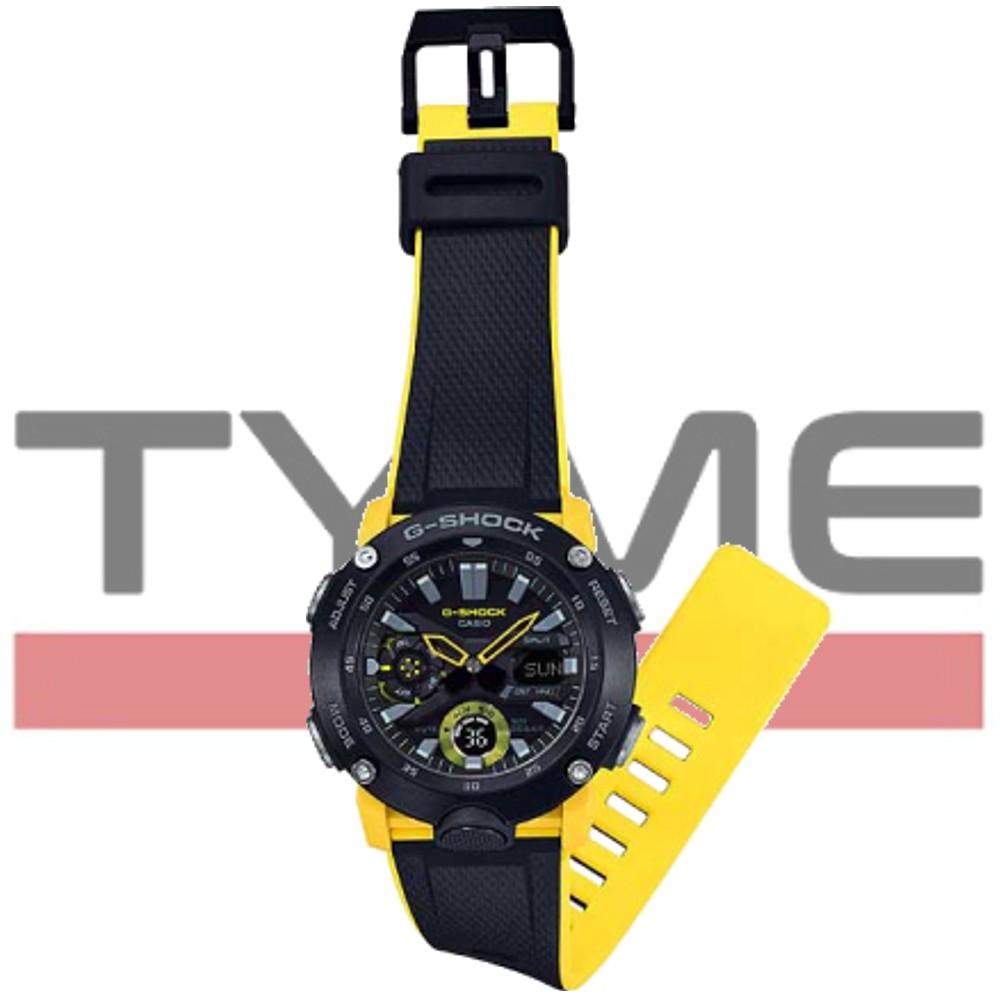 Relógio Casio G-Shock Carbon Core Guard Masculino GA-2000-1A9DR