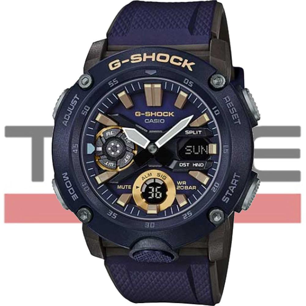 Relógio Casio G-Shock Carbon Core Guard Masculino GA-2000-2ADR