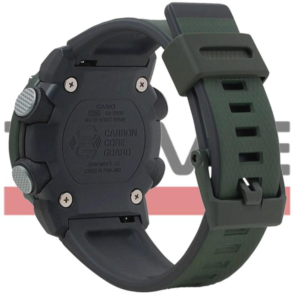 Relógio Casio G-Shock Carbon Core Guard Masculino GA-2000-3ADR