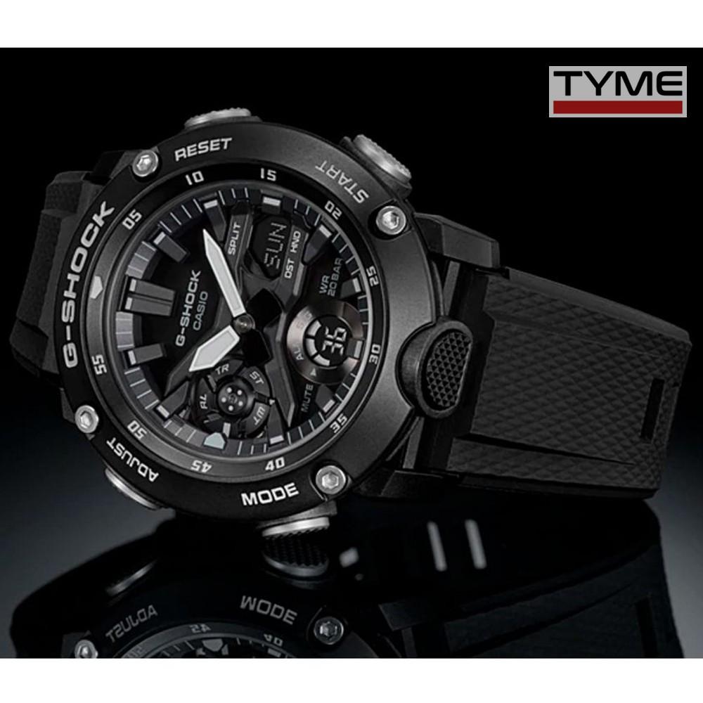 Relógio Casio G-Shock Carbon Core Guard Masculino GA-2000S-1ADR