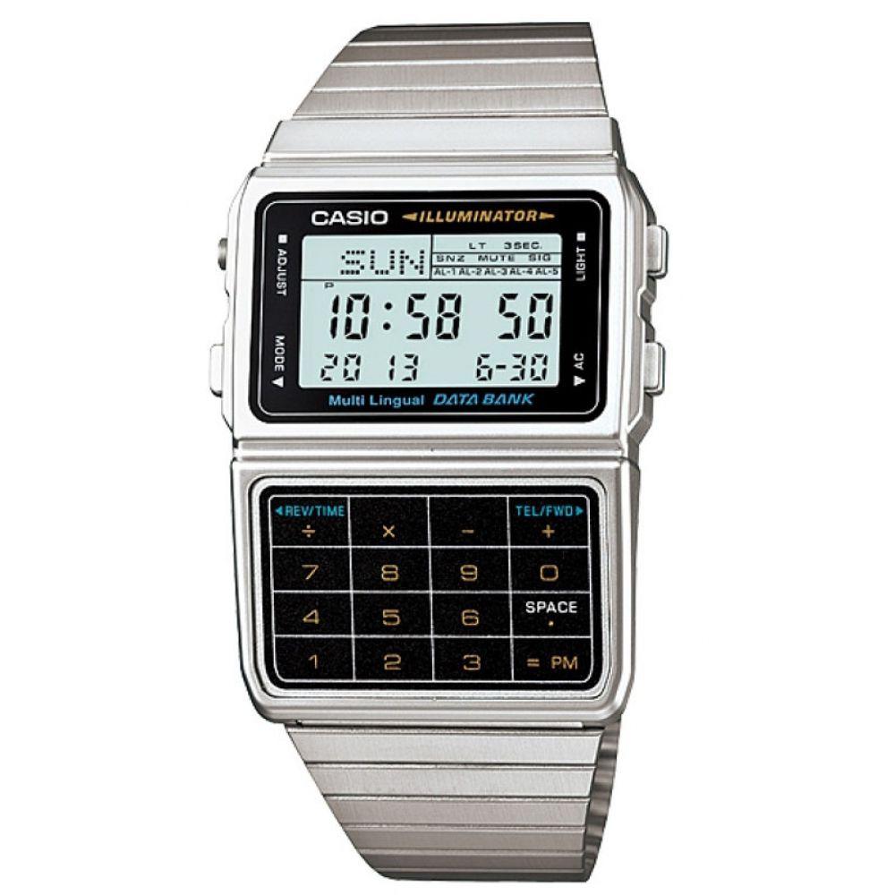 Relógio Casio Masculino Vintage Digital DBC-611-1DF