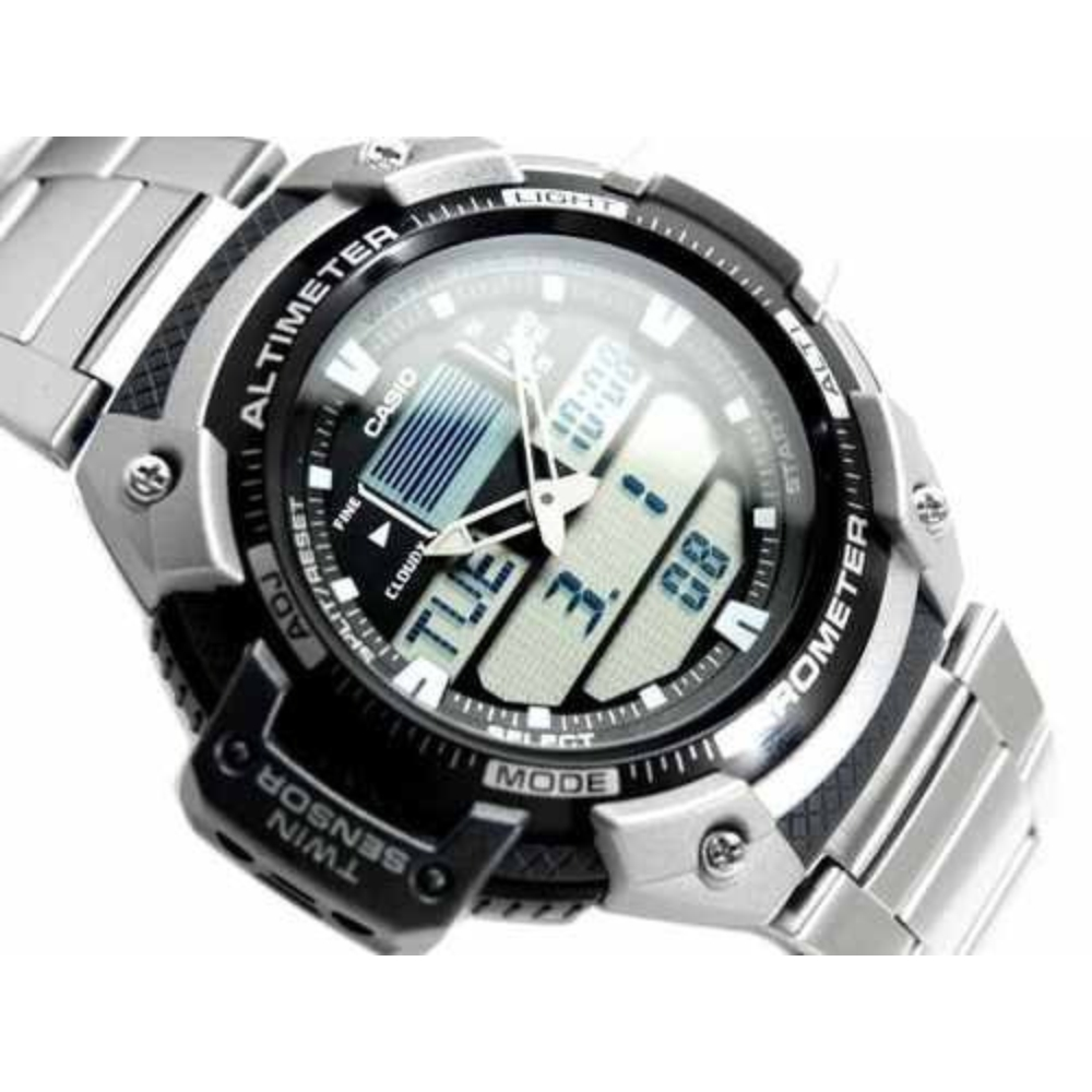 Relógio Casio Outgear Masculino Altimetro Barômetro SGW-400HD-1BV