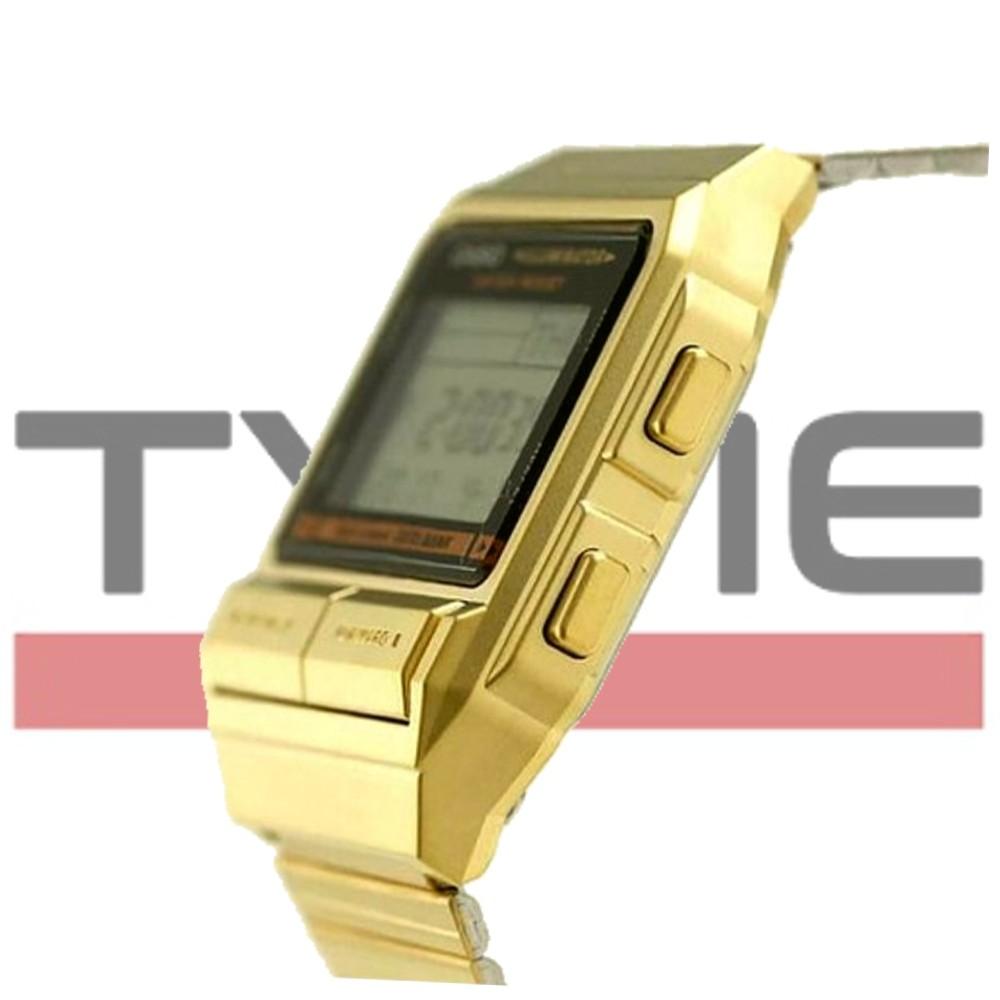 Relógio Casio Vintage Data Bank DB-380G-1DF
