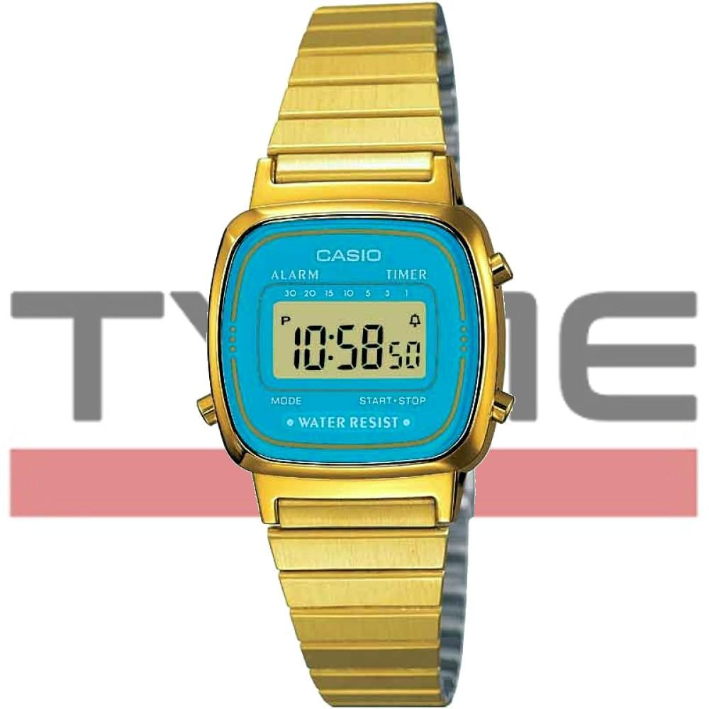 Relógio Casio Vintage Feminino Digital LA670WGA-2DF