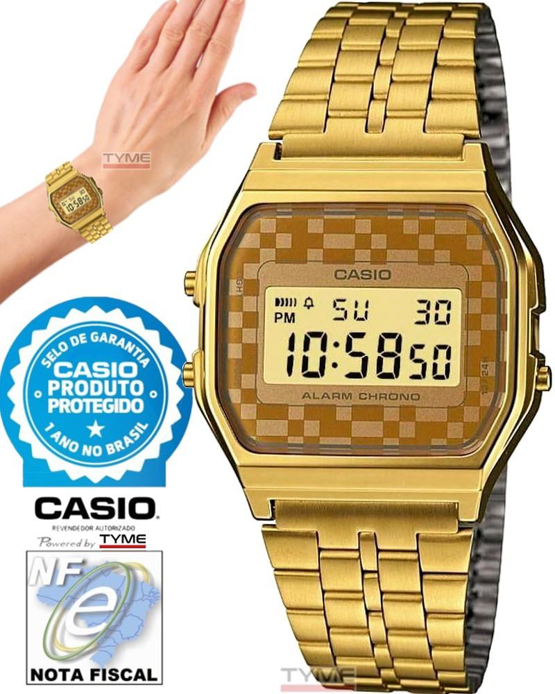 Relógio Casio Vintage Unissex A159WGEA-9ADF