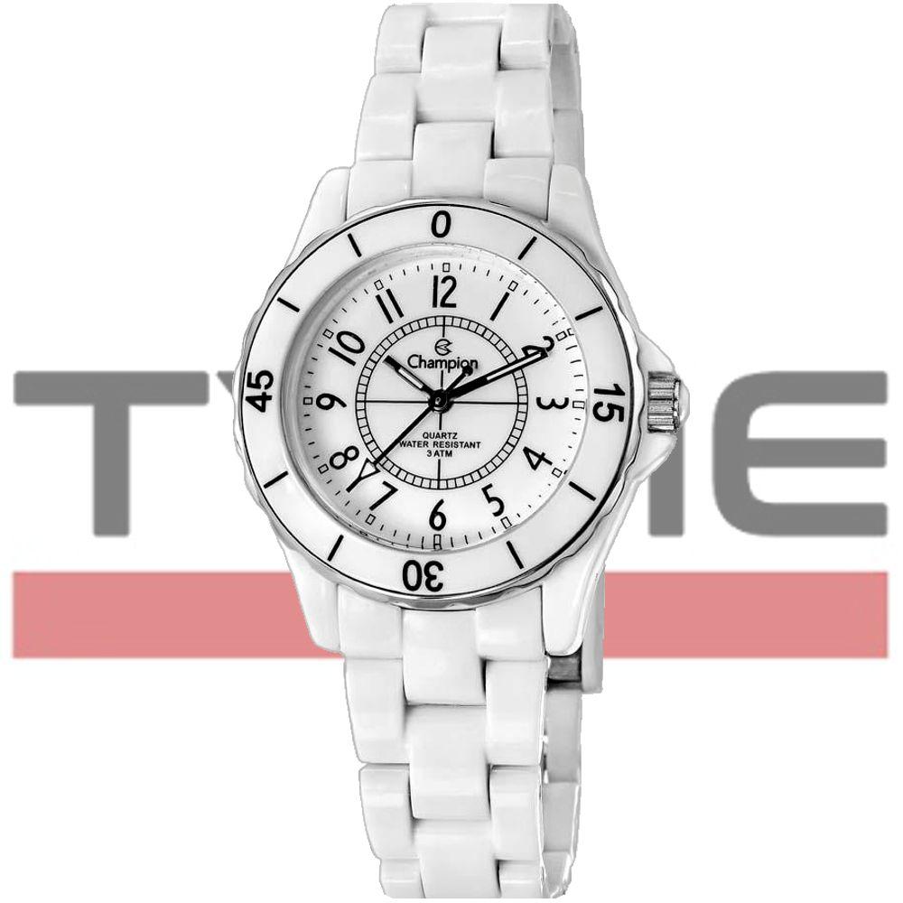 Relógio Champion Feminino Analógico Branco CP28159B