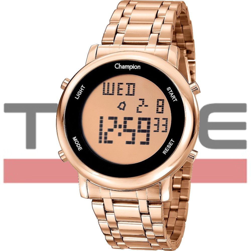 Relógio Champion Feminino DIgital CH40213Z Rosé