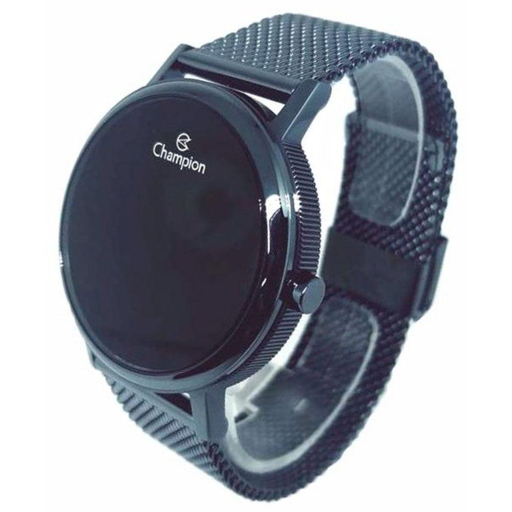Relógio Champion LED Digital Unissex CH40179A Azul - LED Azul