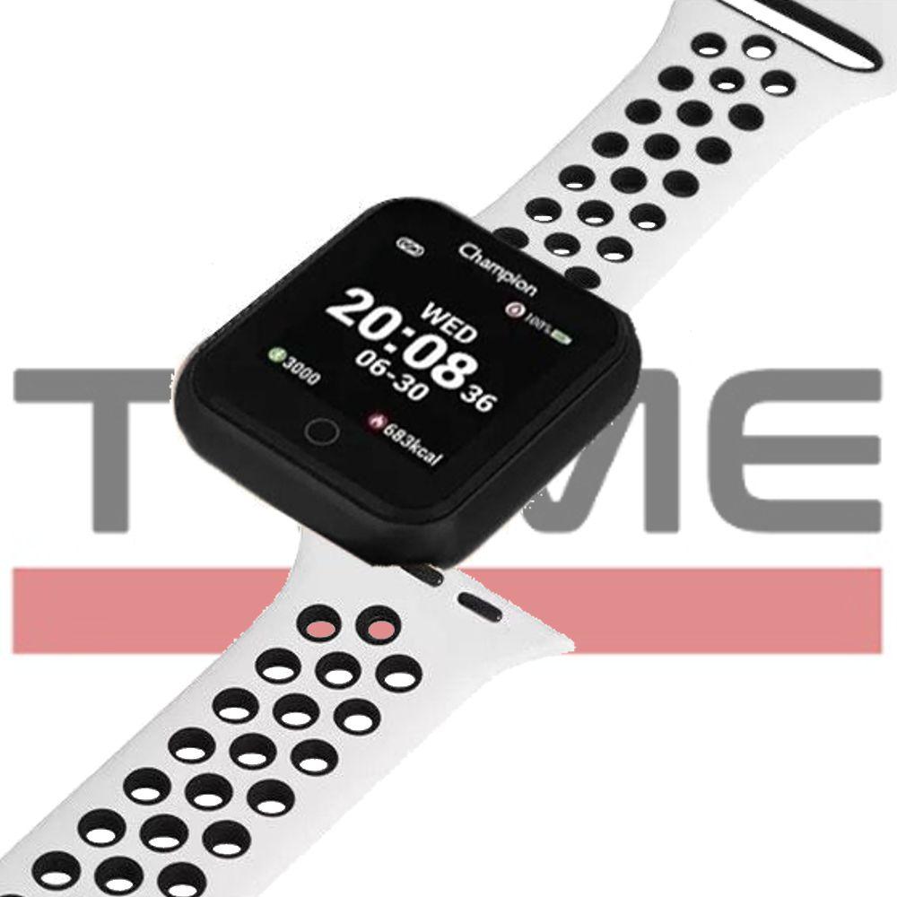 Relógio Champion Smartwatch Bluetooth 4.0 CH50006K Preto/Branco
