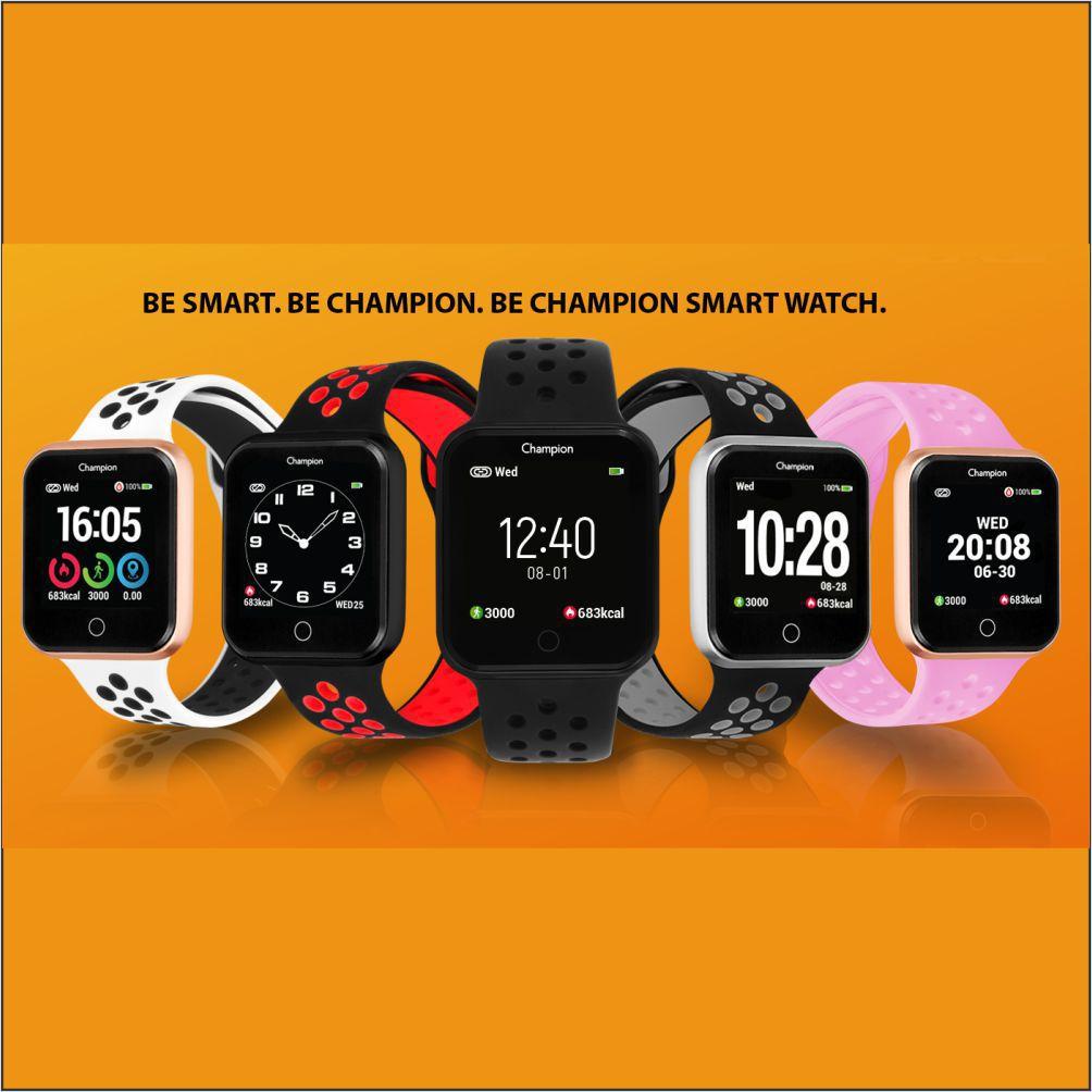 Relógio Champion Smartwatch Bluetooth 4.0 CH50006Q Prata/Branco