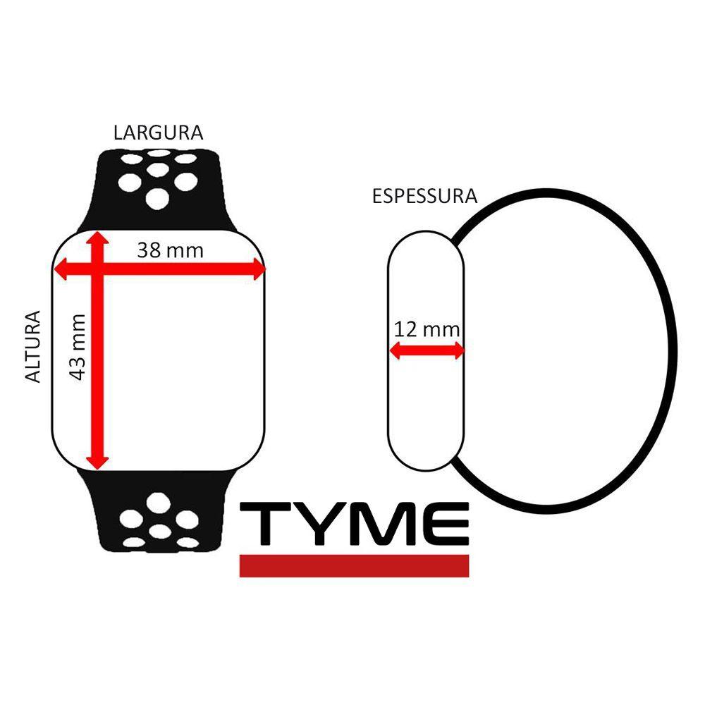 Relógio Champion Smartwatch Bluetooth 4.0 CH50006W Rosé/Branco
