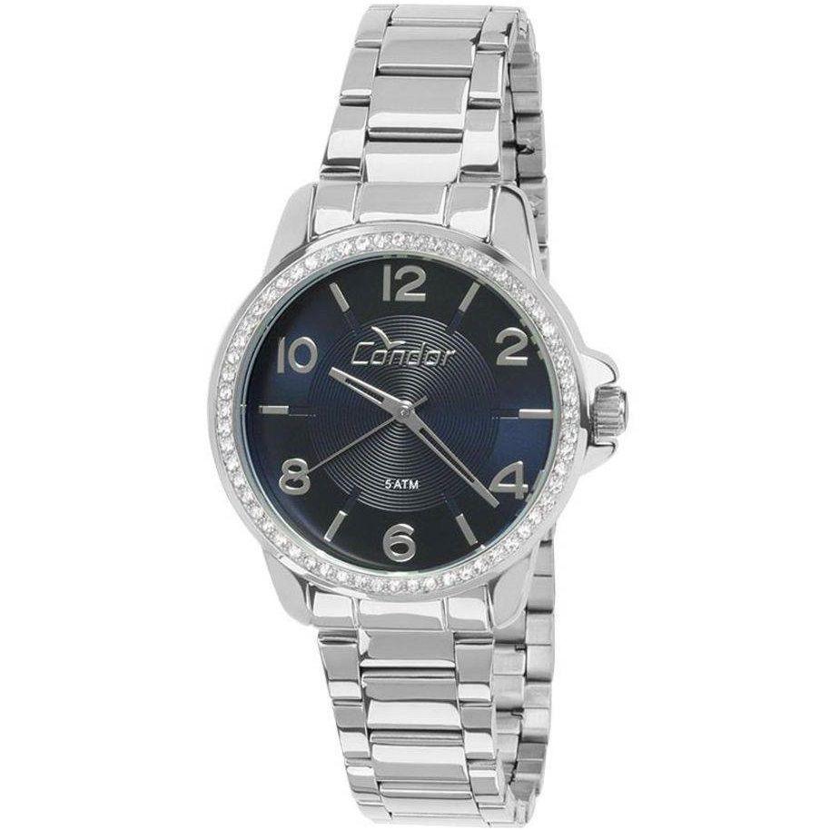 Relógio Condor Feminino CO2035KQJ/3A Prateado