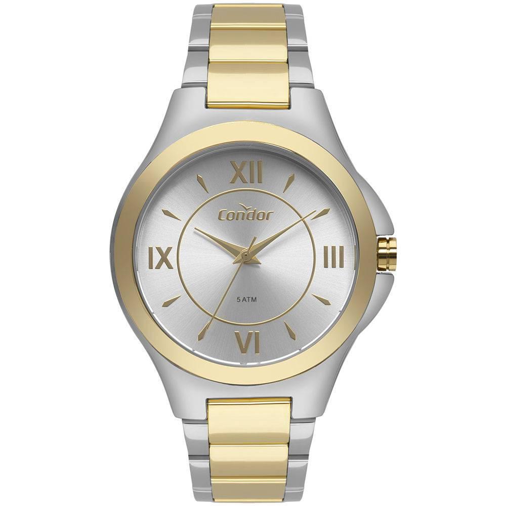 Relógio Condor Feminino CO2035KXV/5K Bicolor