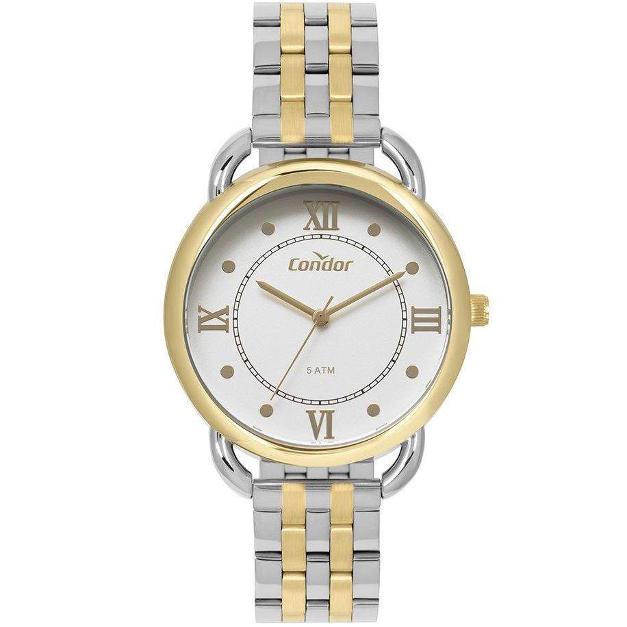 Relógio Condor Feminino CO2035MPR/5K Bicolor