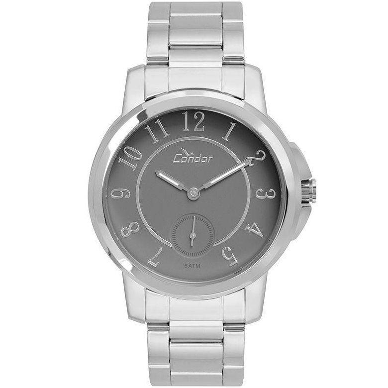 Relógio Condor Feminino CO6P28AB/1C Aço Prateado