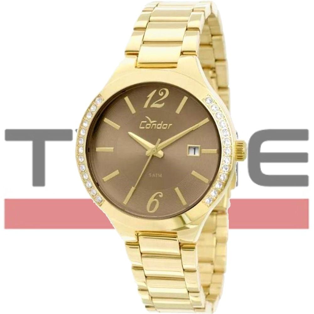 Relógio Condor Feminino Dourado CO2115TO/4C