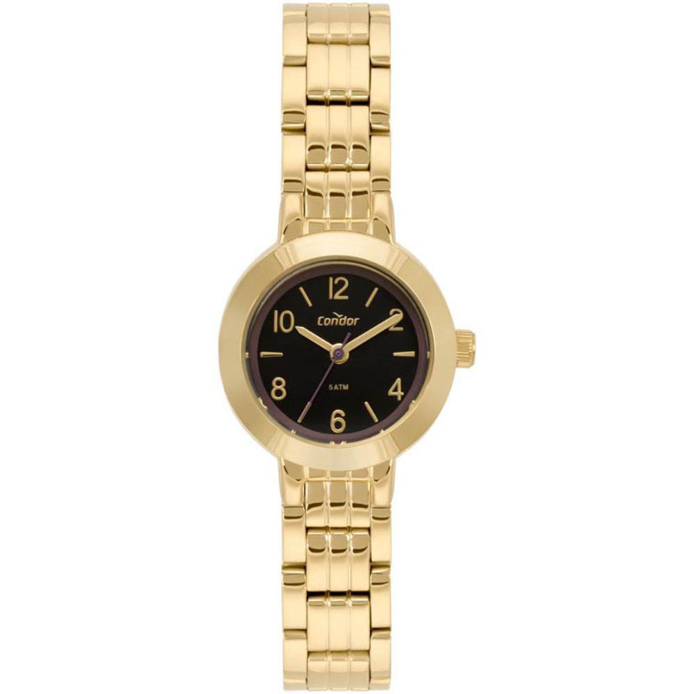 Relógio Condor Feminino Mini CO2035MQE/4P Dourado
