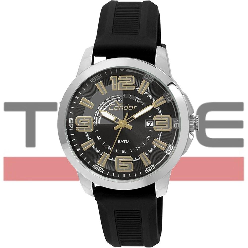 Relógio Condor Masculino CO2115YD/8P Silicone