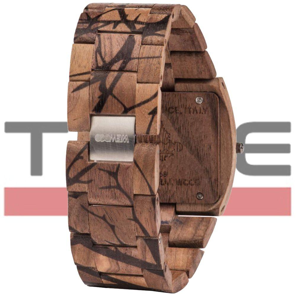 Relógio de Madeira Wewood Masculino Jupiter Nature Tree Nut WWJ10