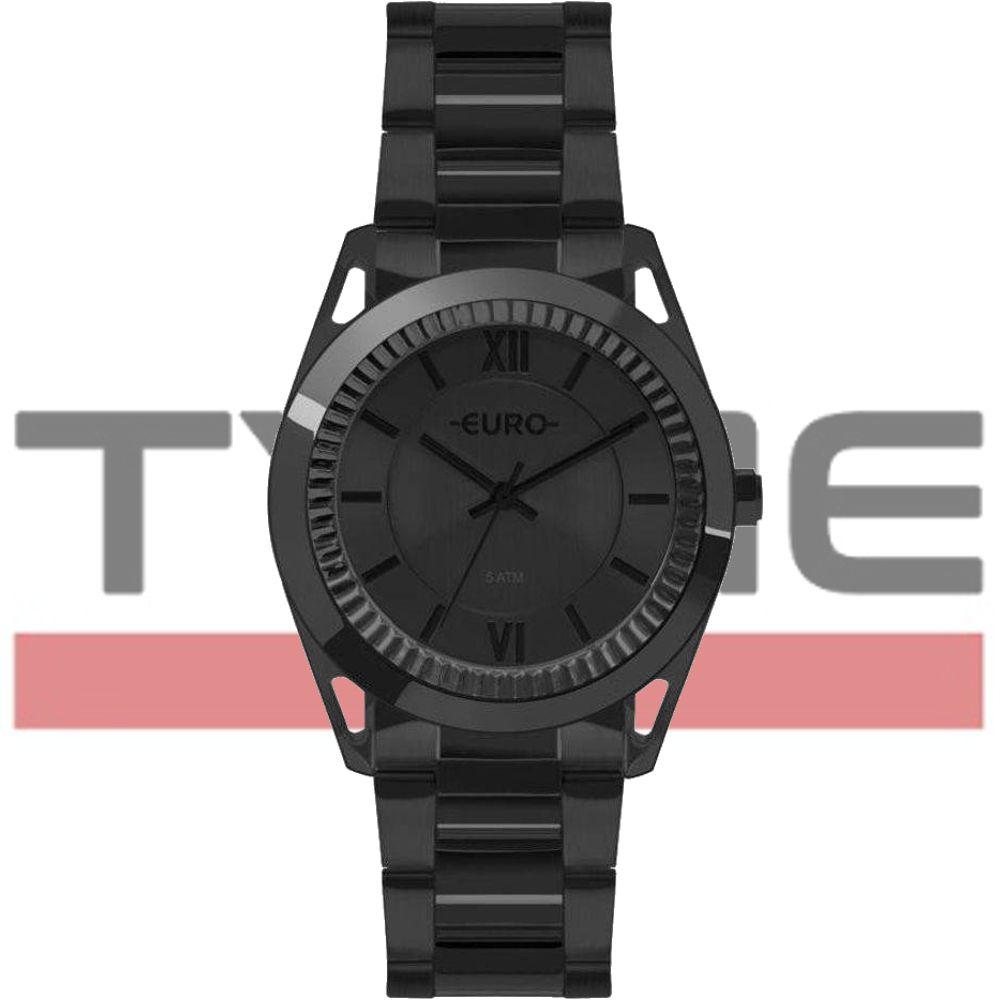 Relógio Euro Feminino Metal Frame Preto EU2035YPS/4P