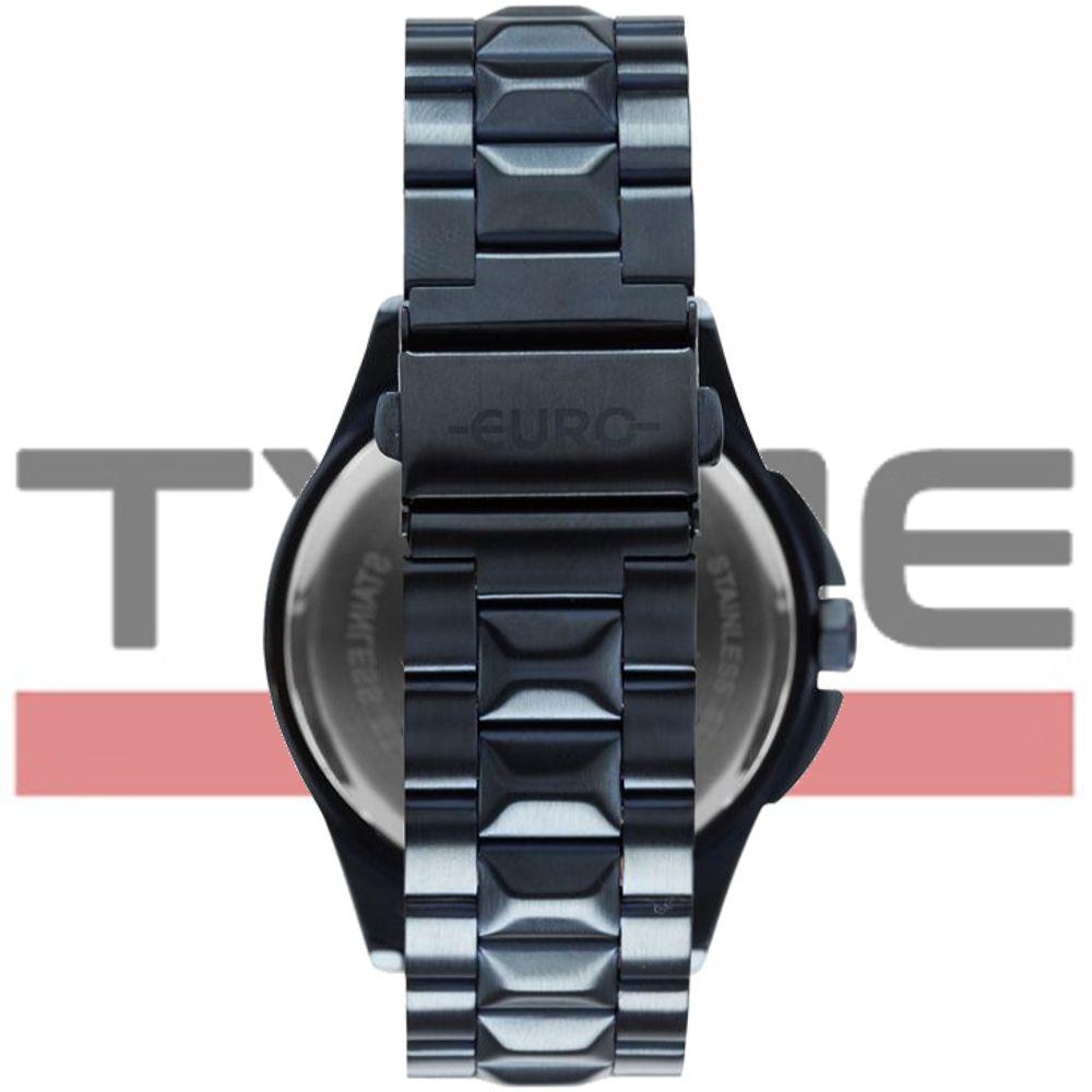 Relógio Euro Feminino Spike Fever Power Azul EU6P29AGY/4C