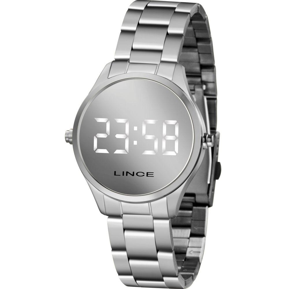 Relógio Lince Feminino Led Digital MDM4617L BXSX - LED Branco