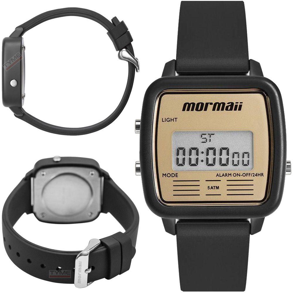 Relógio Mormaii Digital Vintage MOJH02AV/8D Unissex