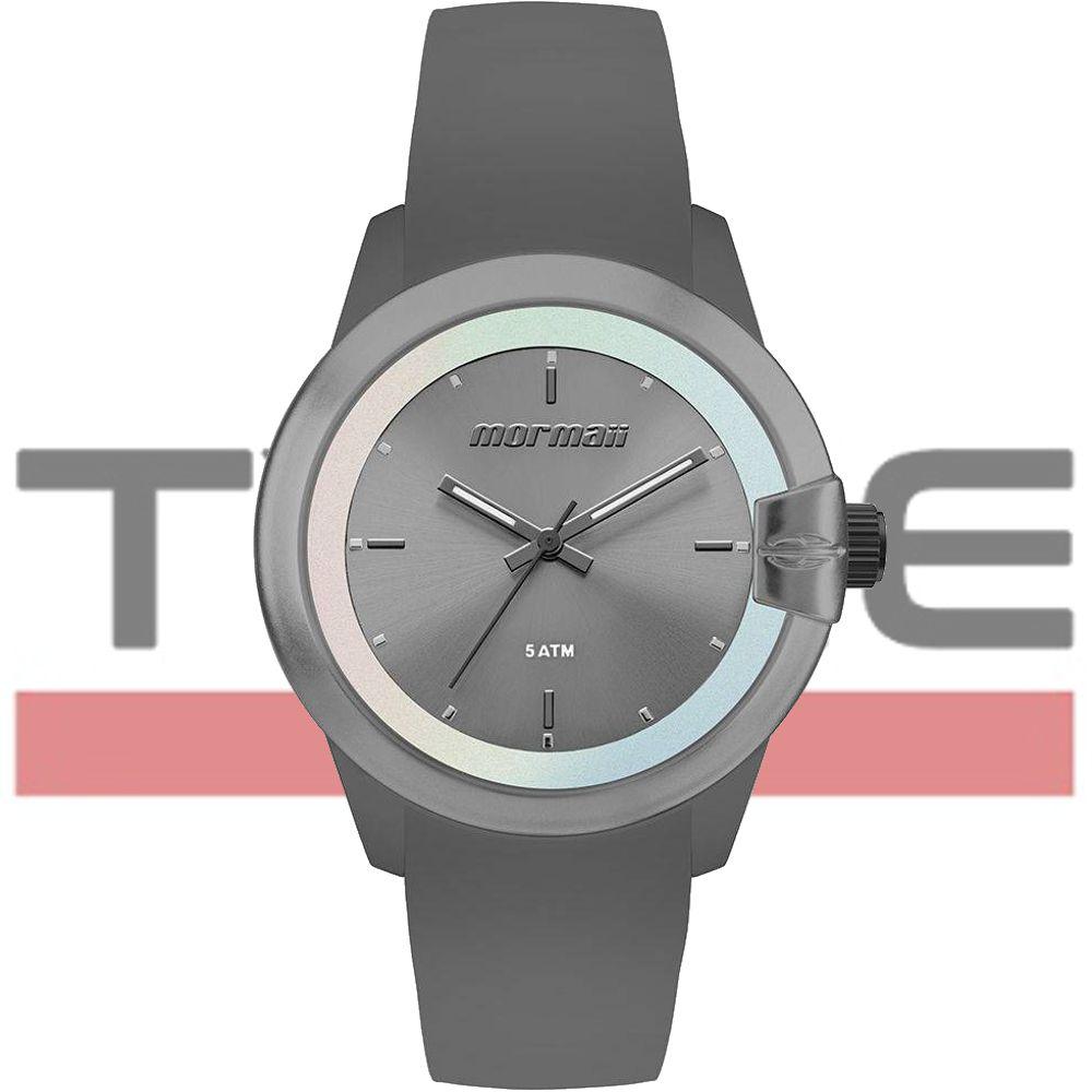 Relógio Mormaii Feminino Maui MO2035JK/8P - Silicone Cinza