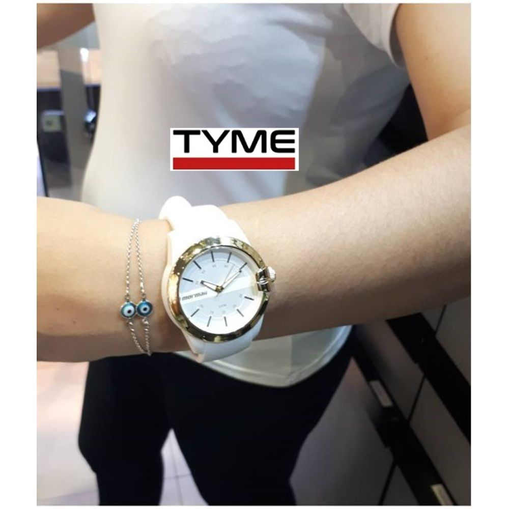Relógio Mormaii Feminino Maui MOPC21JAG/8B - Branco