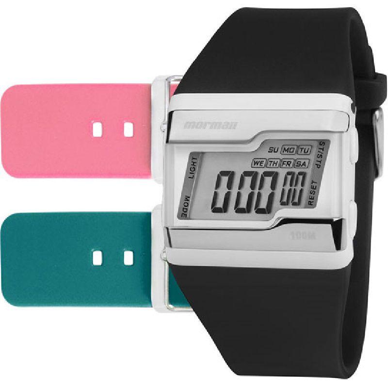 Relógio Mormaii Kit Troca Pulseiras Acquarela FZ/T8J