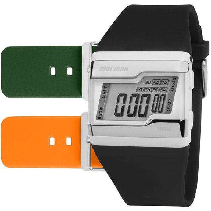 Relógio Mormaii Kit Troca Pulseiras Acquarela FZ/T8L