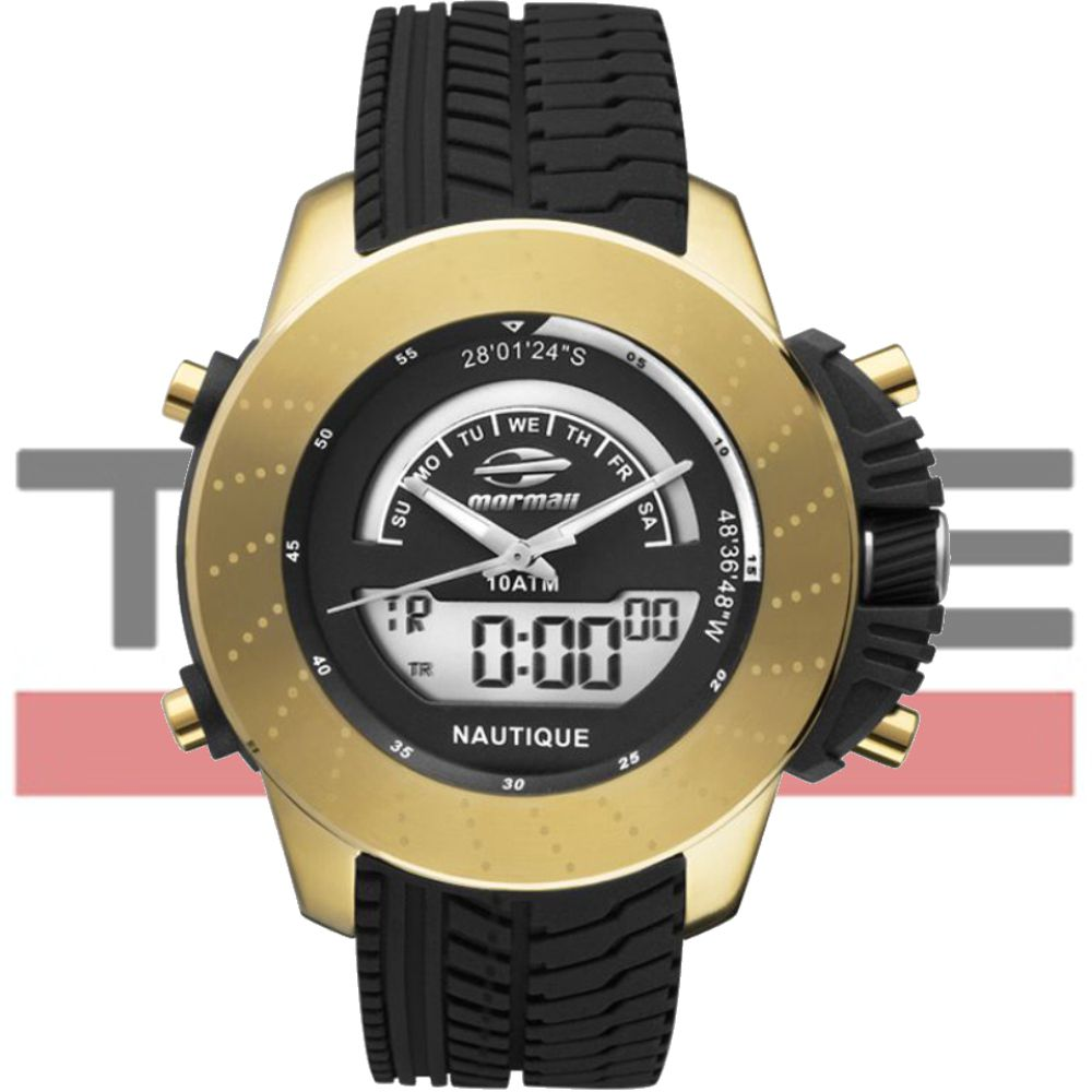 Relógio Mormaii Masculino Anadigi Premium MOVA003/8D