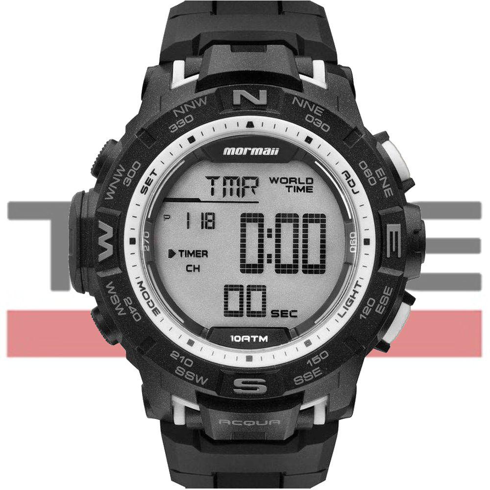 Relógio Mormaii Masculino Digital Acqua Pro MO1173D/8K