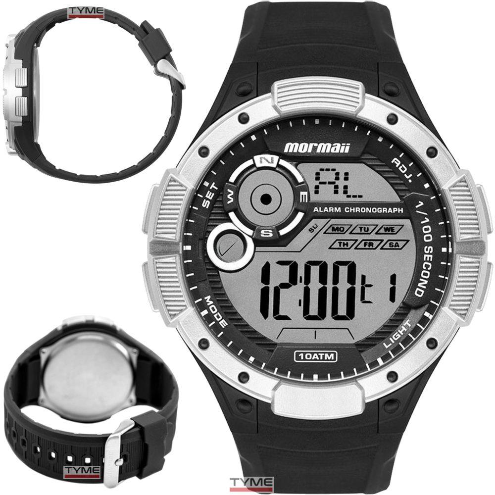 Relógio Mormaii Masculino Digital MO1590AA/8K Wave