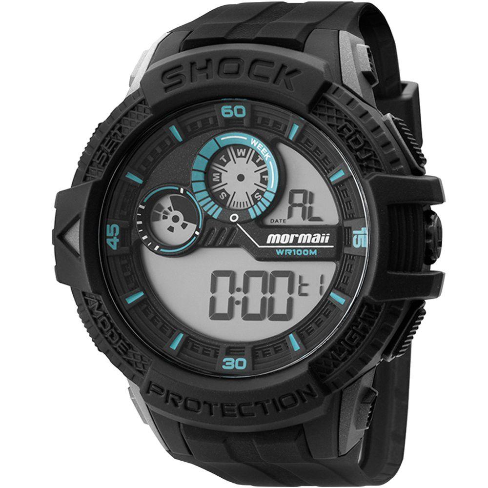 Relógio Mormaii Masculino Digital MO3900/8F