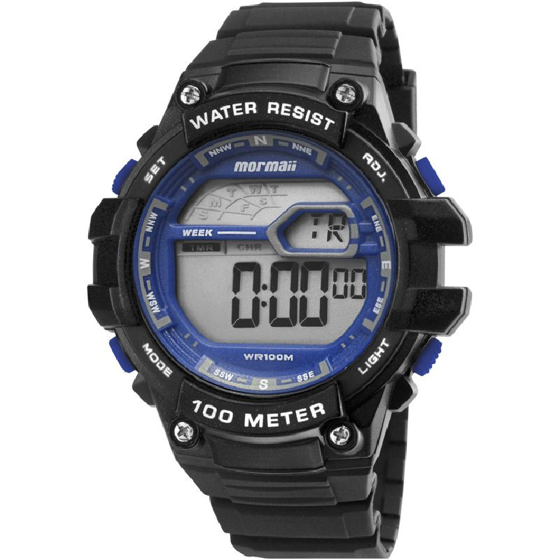 Relógio Mormaii Masculino Digital Wave MO3480A/8A