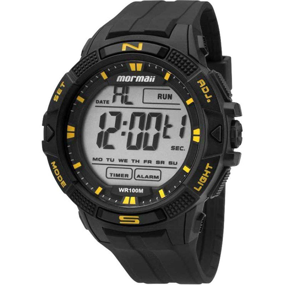 Relógio Mormaii Masculino Digital Wave MO5001/8Y